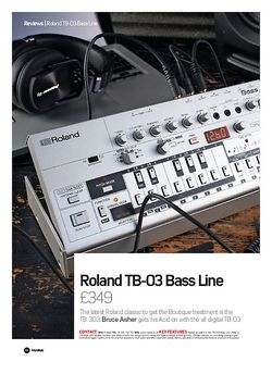 Future Music Roland TB-03 Bass Line