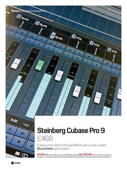 Future Music Steinberg Cubase Pro 9