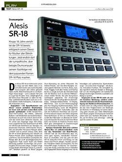 KEYS Test: Alesis SR-18