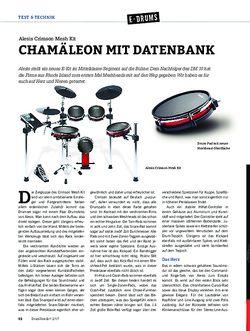 DrumHeads Alesis Crimson Mesh Kit