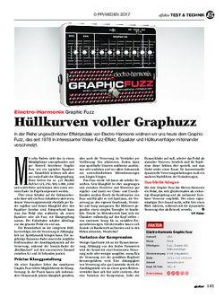 guitar Electro-Harmonix Graphic Fuzz