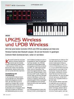 KEYS Akai LPK 25 und LPD8