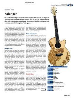 Guitar gear Akustikgitarre - Luna Henna Oasis S