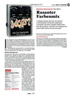 guitar Electro-Harmonix The Worm