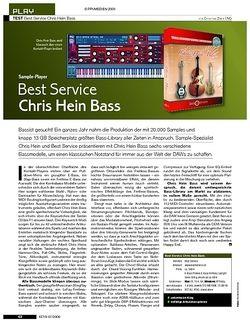 KEYS Test: Chris Hein Bass und Guitars