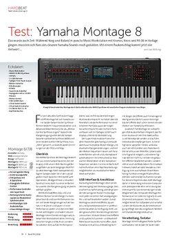 Beat Yamaha Montage 8