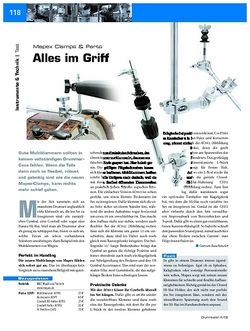 DrumHeads Instrumente & Technik: Mapex Clamps & Parts