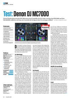 Beat Denon DJ MC7000