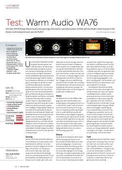 Beat Warm Audio WA76
