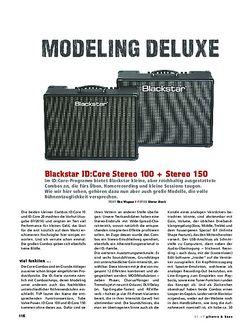 Gitarre & Bass Blackstar ID:Core Stereo 100 + Stereo 150