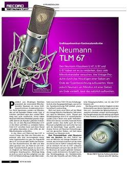 KEYS Neumann TLM 67