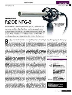 KEYS Rode NTG-3
