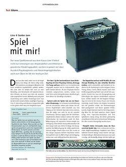Soundcheck Line 6 Spider Jam