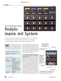 Soundcheck Test: Line 6 M13 Stompbox Modeler