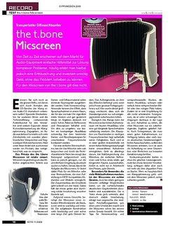 KEYS t.bone Micscreen