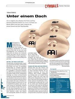 DrumHeads Instrumente & Technik: Meinl Mb10