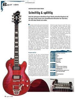 Guitar gear E-Gitarre - Hagstrom Super Swede Tremar
