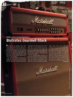 Guitar gear Amp - Marshall JVM Red Basketwave Limited Edition