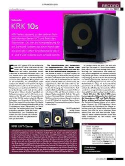 KEYS KRK 10s