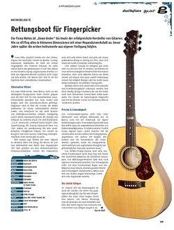 Guitar gear Akustikgitarre - Maton EBG 808 TE