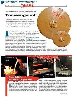 DrumHeads Instrumente & Technik: Masterwork Troy Bundle Set mit Add on