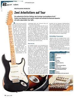Guitar gear E-Gitarre - Fender Roadworn Stratocaster