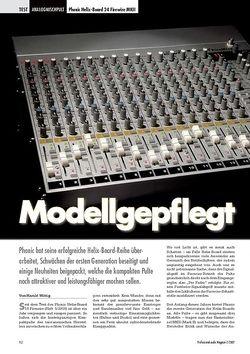Professional Audio Modellgepflegt: Phonic Helix-Board 24 Firewire MKII