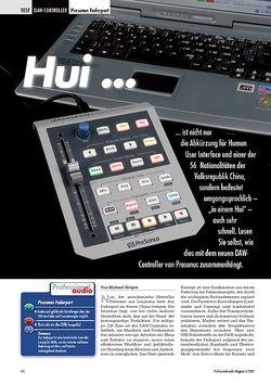 Professional Audio Hui ...  Presonus Faderport