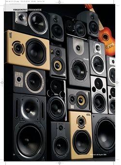 Professional Audio Standhafte Klangmauer: Nahfeldmonitore