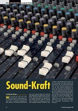 Professional Audio Sound-Kraft: Soundcraft FX16ii