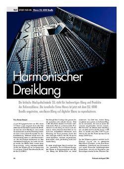 Professional Audio Harmonischer Dreiklang Waves SSL 4000 Bundle
