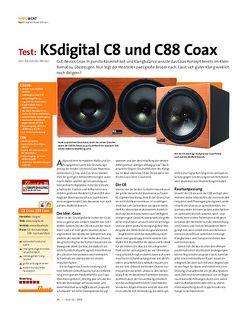Beat Test: KSdigital C8 und C88 Coax