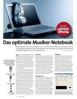 Beat Das optimale Musiker-Notebook