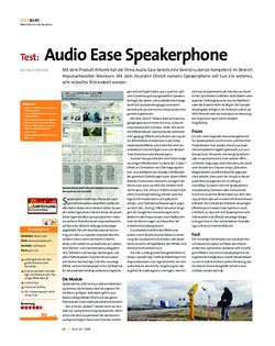 Beat Test: Audio Ease Speakerphone