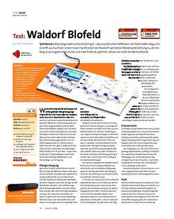 Beat Test: Waldorf Blofeld