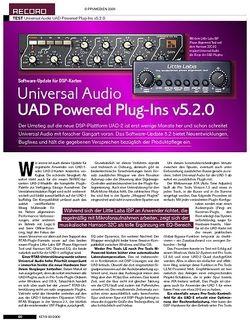 KEYS Universal Audio UAD Powered Plug-Ins v5.2.0