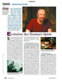 Soundcheck Workshop-Story: Steve Smith - Evolution des Drumset-Spiels