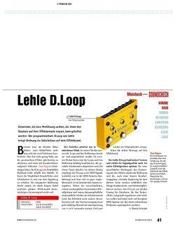 Soundcheck Minicheck: Lehle D.Loop - Effektumschalter
