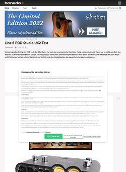 Bonedo.de Line 6 POD Studio UX2