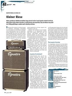 Guitar gear Amp - Egnater Rebel-20 & Rebel-112X