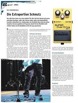 Guitar gear Effekte - Boss Verzerrerpedale