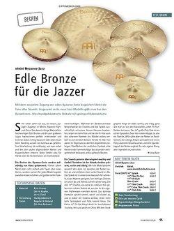 Soundcheck Test: Meinl Byzance Jazz