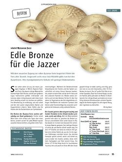 Soundcheck Test: Meinl Byzance Jazz