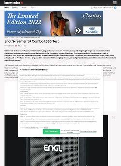 Bonedo.de Engl Screamer 50 Combo E330