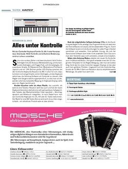 Tastenwelt Kurztest: Novation SL MkII
