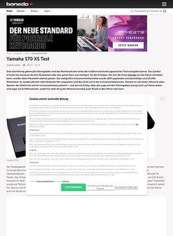 Yamaha Tg  Manual