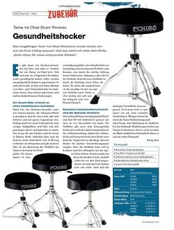 DrumHeads Instrumente & Technik: Tama 1st Chair Drum Thrones