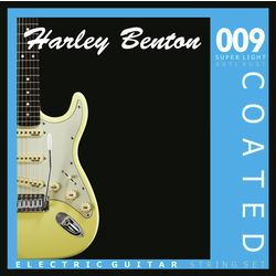 Coated Electric Guitar 009 Harley Benton