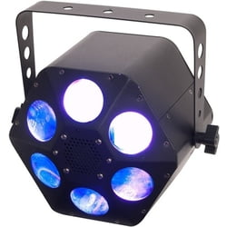 Quad Phase HP 32-Watt Quad-LED ADJ