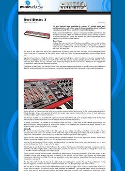 Keyboard Case Clavia ElectroII